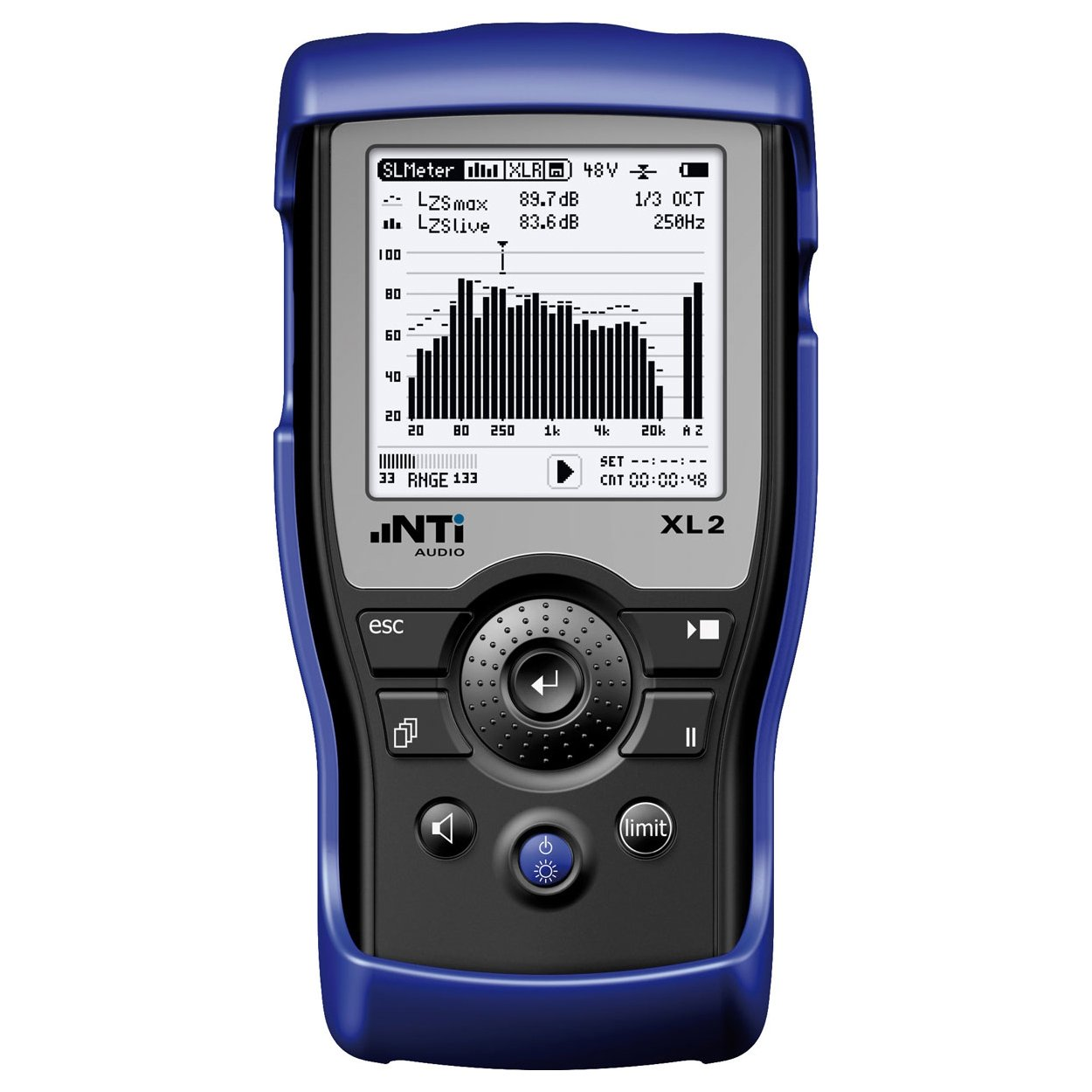 NTi Audio XL2 Sound Level Meter - Belram