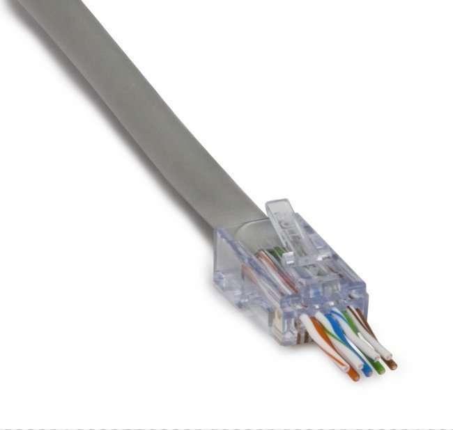Platinum Tools ezEX™44 ezEX-RJ45® CAT6 UTP Connector - Belram