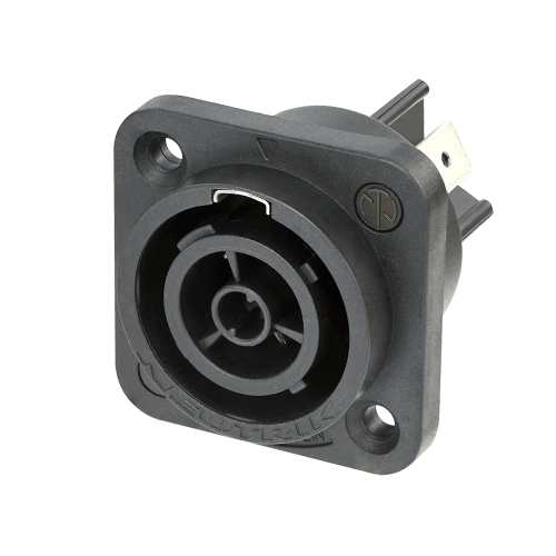 powerCON® TRUE1 TOP female chassis connector (power OUT)