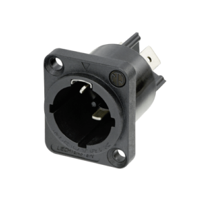 powerCON® TRUE1 TOP male chassis connector for drawing power (IN)