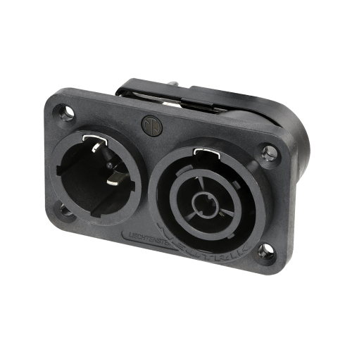 powerCON® TRUE1 TOP male/female IN/OUT chassis connector