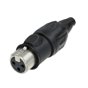 Neutrik XLR TOP 3 pin female cable connector