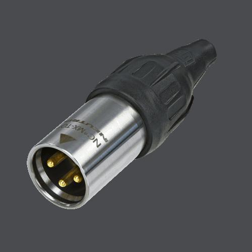 Neutrik XLR TOP 3 pin male cable connector