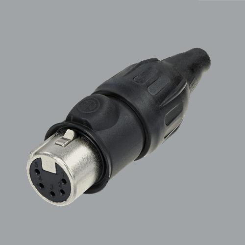 Neutrik XLR TOP 5 pin female cable connector