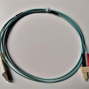 LC-SC Duplex Multimode OM3 Fiber Patch Cord