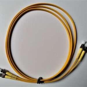 ST-ST Duplex Singlemode Fiber Patch Cord