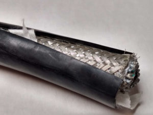 example of braided shielding