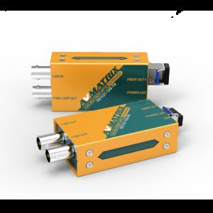 12G-SDI Fiber Optic Extender